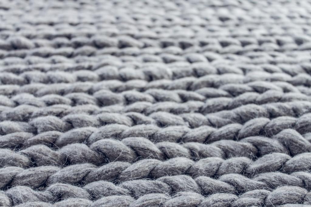 Close up rug